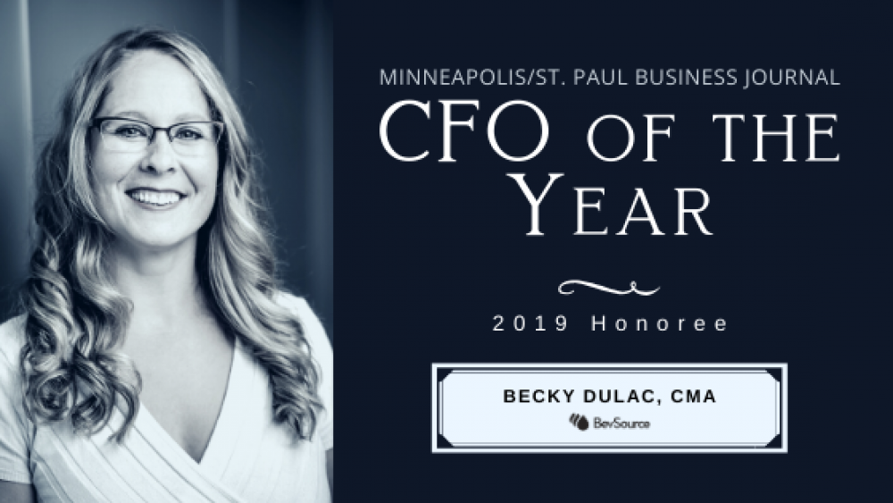 Becky DuLac 2019 CFO of the Year Business Journal MSP