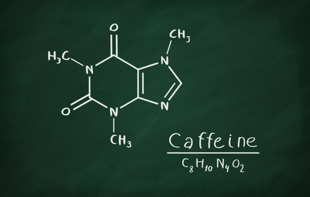Natural Caffeine Structure