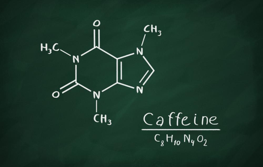 Natural Caffeine Structure