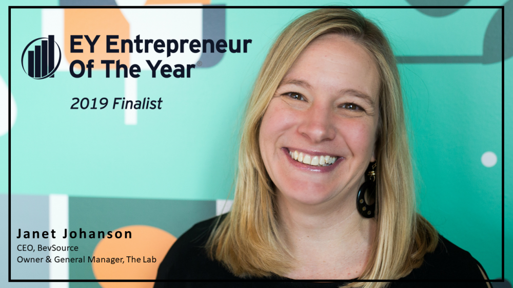 Janet Johanson BevSource Entrepreneur Of The Year 2019 Award Finalist