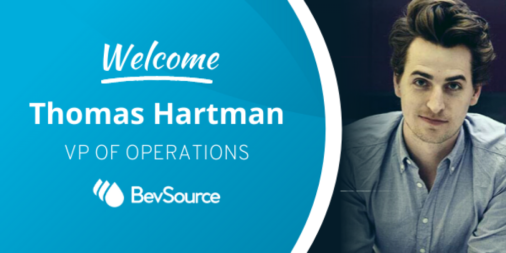 International Brewing Innovator, Thomas Hartman, joins BevSource as Vice President of Operations