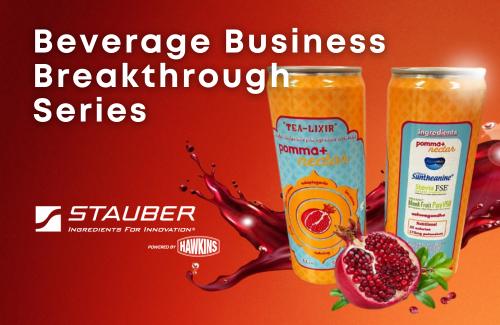 Stauber Performance Ingredients Functional Beverage Innovation Partner