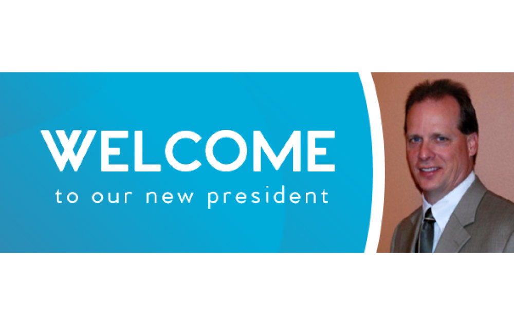 WELCOME NEW PRESIDENT TODD GEISNESS