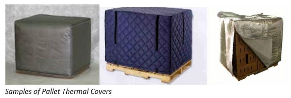 LTL Freeze Protection Pallet Thermal Covers