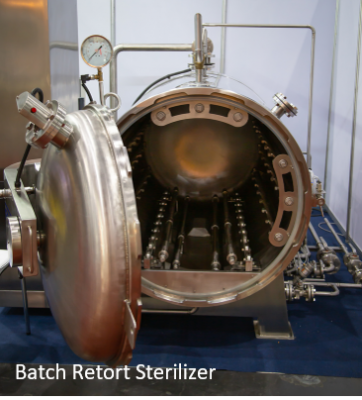 batch retort sterilization